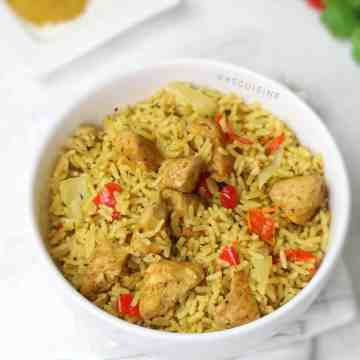 easy chicken curry rice recipe