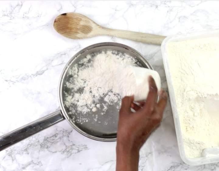 add cassava flour