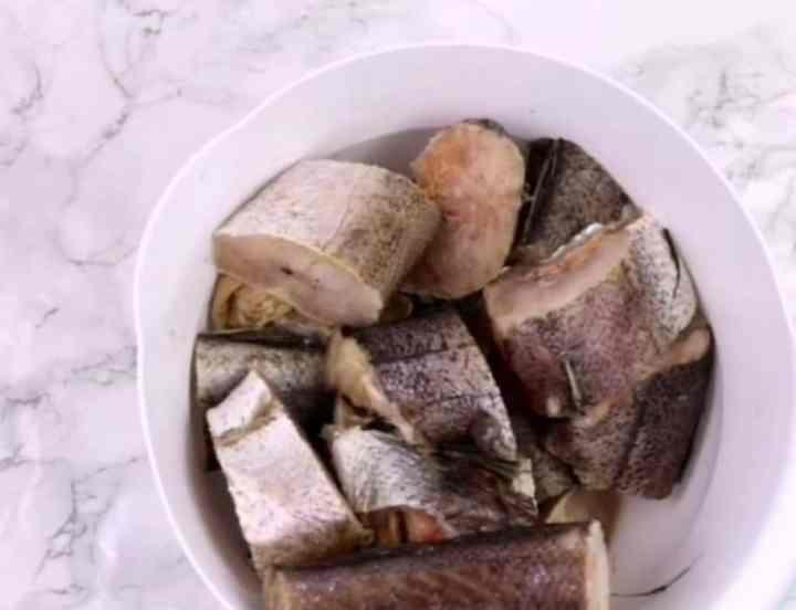 Hake. Stock fish. Panla