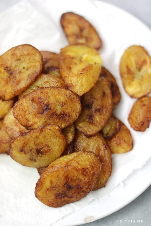 How to cook plantain.