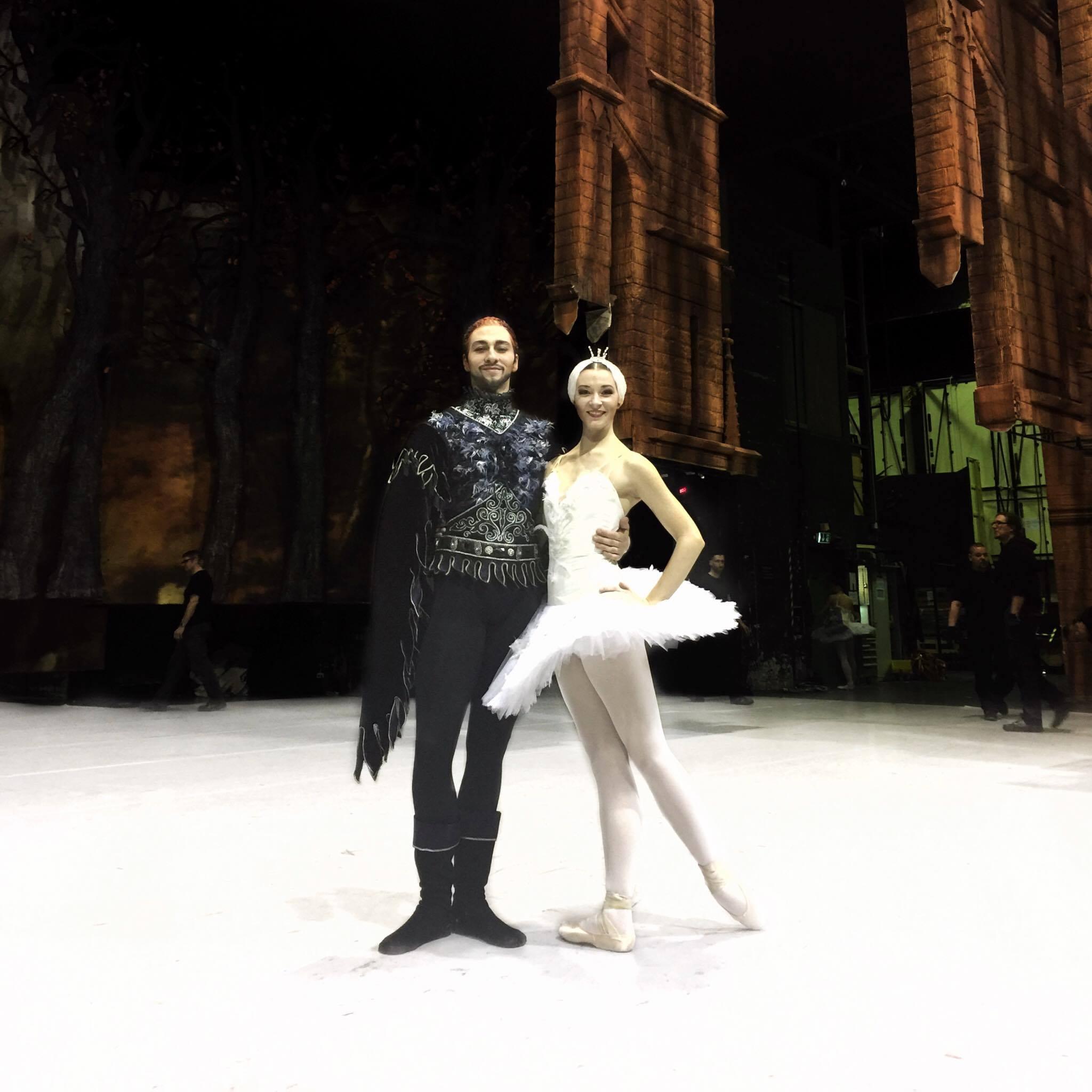 Rebecca Haw (KS Dance Graduate) and Gareth Haw (graduate of The Royal ballet School)