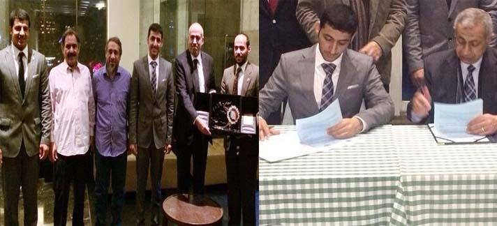 توقع اتفاقية للتعاون بين جمعية المهندسين واكاديمية النقل البحري بمصر