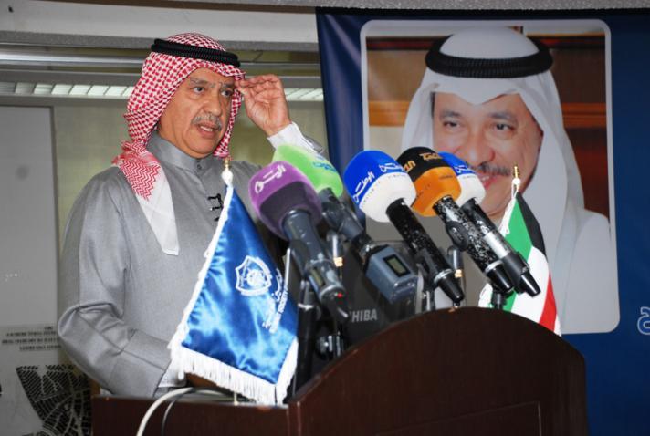 صباح الناصر عرض مشروع فزعة في جمعية المهندسين