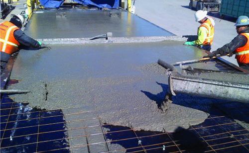 وظيفة ومواصفات المياه المستخدمة في خلط الخرسانة