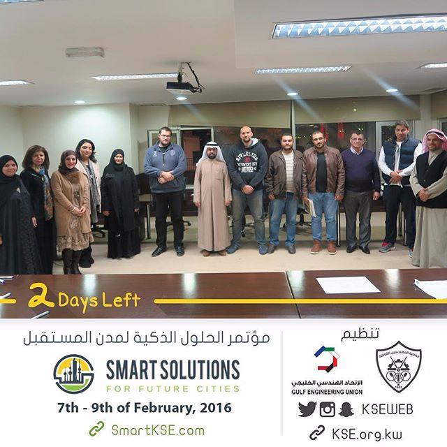 باقي يومان على إفتتاح الملتقى الهندسي الخليجي ١٩