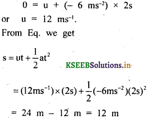 KSEEB Solutions for Class 9 Science Chapter 8 Motion 4