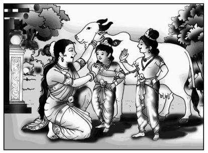 सूर-श्याम Summary in Hindi