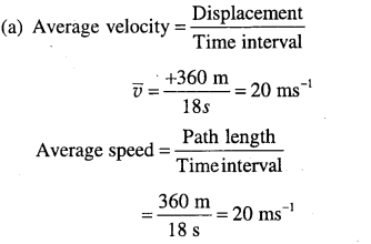 1st PUC Physics Question Bank Chapter 3 Motion in a Straight Line - 16