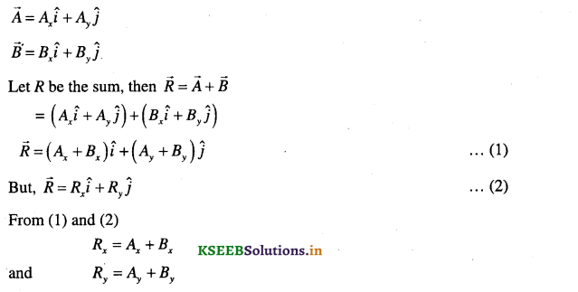 1st PUC Physics Question Bank Chapter 4 Motion in a Plane - 17