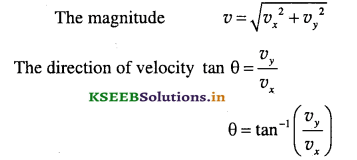 1st PUC Physics Question Bank Chapter 4 Motion in a Plane - 28