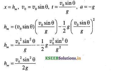 1st PUC Physics Question Bank Chapter 4 Motion in a Plane - 36