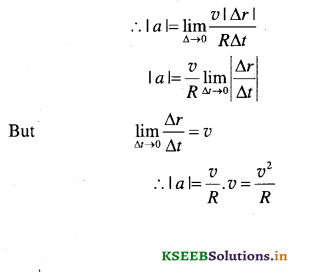 1st PUC Physics Question Bank Chapter 4 Motion in a Plane - 41