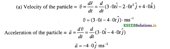 1st PUC Physics Question Bank Chapter 4 Motion in a Plane - 68