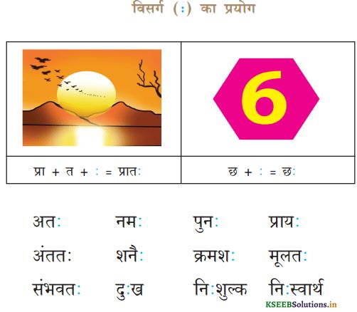 KSEEB Solutions for Class 6 Hindi वल्लरी Chapter 4 स्वर और उनकी मात्राएँ 13