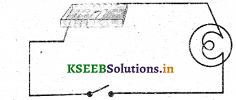 KSEEB Solutions for Class 7 Science Chapter 14 Electric Current and its Effects 10