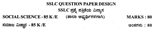 Karnataka SSLC Social Science Model Question Papers with Answers