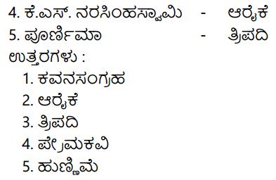 Siri Kannada Text Book Class 8 Solutions Padya Chapter 2 Sanna Sangati 11