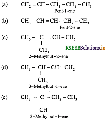1st PUC Chemistry Question Bank Chapter 13 Hydrocarbon - 41