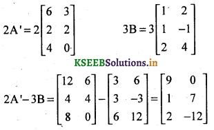 2nd PUC Basic Maths Question Bank Chapter 1 Matrices and Determinants 22