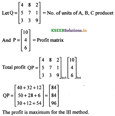 2nd PUC Basic Maths Question Bank Chapter 1 Matrices and Determinants 25