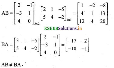 2nd PUC Basic Maths Question Bank Chapter 1 Matrices and Determinants 28