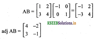 2nd PUC Basic Maths Question Bank Chapter 1 Matrices and Determinants 37
