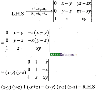 2nd PUC Basic Maths Question Bank Chapter 1 Matrices and Determinants 44