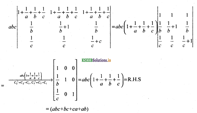 2nd PUC Basic Maths Question Bank Chapter 1 Matrices and Determinants 55