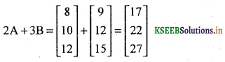 2nd PUC Basic Maths Question Bank Chapter 1 Matrices and Determinants 7