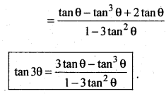 2nd PUC Basic Maths Question Bank Chapter 14 Compound Angles, Multiple Angles, Sub Multiples Angles and Transformation Formulae 29