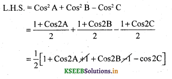 2nd PUC Basic Maths Question Bank Chapter 14 Compound Angles, Multiple Angles, Sub Multiples Angles and Transformation Formulae 46