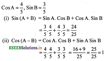 2nd PUC Basic Maths Question Bank Chapter 14 Compound Angles, Multiple Angles, Sub Multiples Angles and Transformation Formulae 9