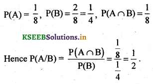 2nd PUC Basic Maths Question Bank Chapter 3 Probability 23
