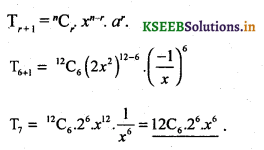 2nd PUC Basic Maths Question Bank Chapter 4 Binomial Theorem 13