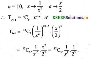 2nd PUC Basic Maths Question Bank Chapter 4 Binomial Theorem 14