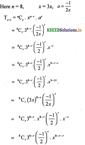 2nd PUC Basic Maths Question Bank Chapter 4 Binomial Theorem 19