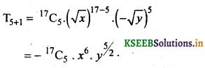 2nd PUC Basic Maths Question Bank Chapter 4 Binomial Theorem 2