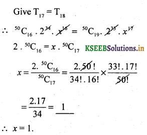 2nd PUC Basic Maths Question Bank Chapter 4 Binomial Theorem 26