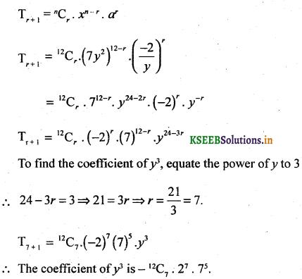 2nd PUC Basic Maths Question Bank Chapter 4 Binomial Theorem 35