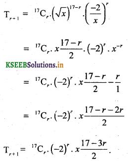 2nd PUC Basic Maths Question Bank Chapter 4 Binomial Theorem 36