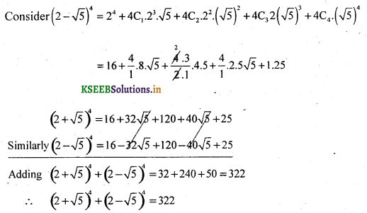 2nd PUC Basic Maths Question Bank Chapter 4 Binomial Theorem 8