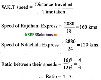 2nd PUC Basic Maths Question Bank Chapter 7 Ratios and Proportions 16