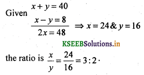 2nd PUC Basic Maths Question Bank Chapter 7 Ratios and Proportions 4