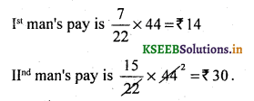 2nd PUC Basic Maths Question Bank Chapter 7 Ratios and Proportions 7