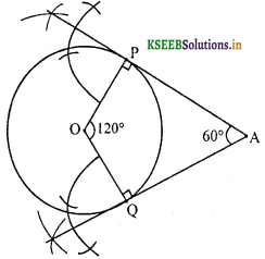 KSEEB Solutions for Class 10 Maths Chapter 6 Constructions Ex 6.2 4