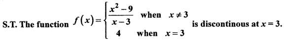 2nd PUC Basic Maths Question Bank Chapter 17 Limit and Continuity of a Function 124