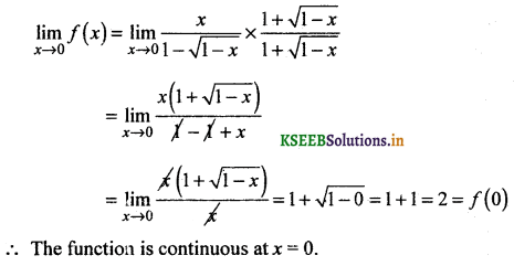 2nd PUC Basic Maths Question Bank Chapter 17 Limit and Continuity of a Function 126