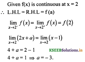 2nd PUC Basic Maths Question Bank Chapter 17 Limit and Continuity of a Function 147