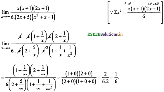 2nd PUC Basic Maths Question Bank Chapter 17 Limit and Continuity of a Function 59