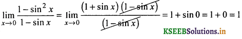 2nd PUC Basic Maths Question Bank Chapter 17 Limit and Continuity of a Function 88